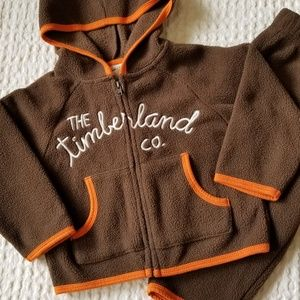 Timberland Little Boys 2Pc Set Orange Shorts